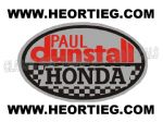 Paul Dunstall Honda Tank and Fairing Transfer Decal DDUN5-3